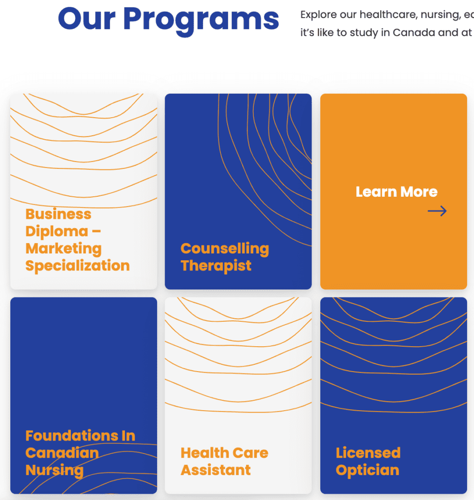 Stenberg College Programs